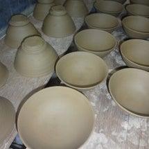 ご飯茶碗の水挽き~高…