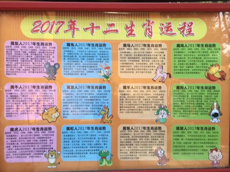 初中国!四柱推命発祥の地への旅~その3~干支のモニュメント①亥年と ...