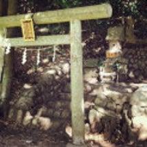 有鹿神社の奥宮へ
