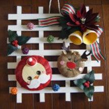 「クリスマスの壁掛け…