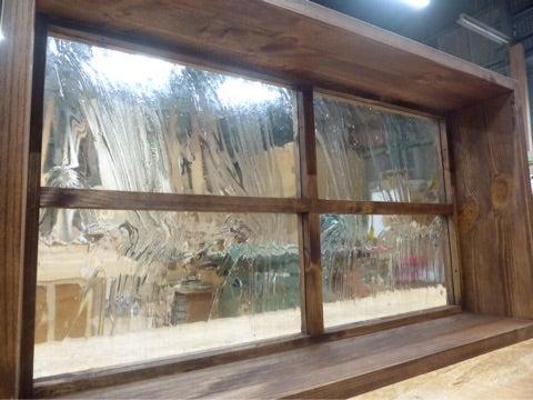 泡入りガラス okamoku  FIX窓