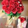 美女と野獣の赤バラの…
