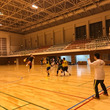 吉川総合体育館での練…