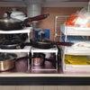 台所シンク下とコンロ下収納~100均アイテムとカインズと無印良品~の画像