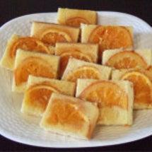 スライスしたオレンジ…