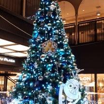 銀座のクリスマスツリ…