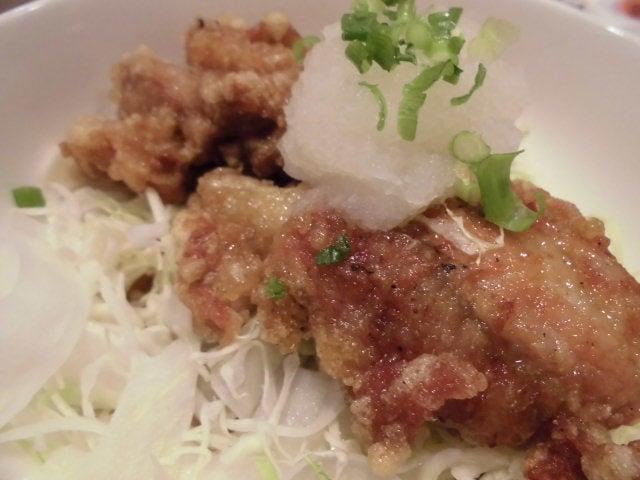 若鶏の竜田揚げおろしポン酢2