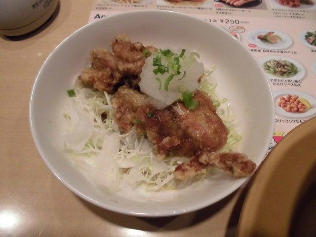 若鶏の竜田揚げおろしポン酢1