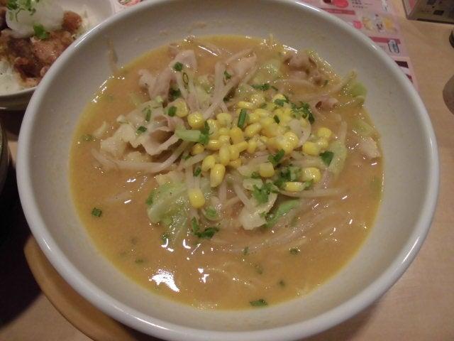 味噌コーンラーメン1