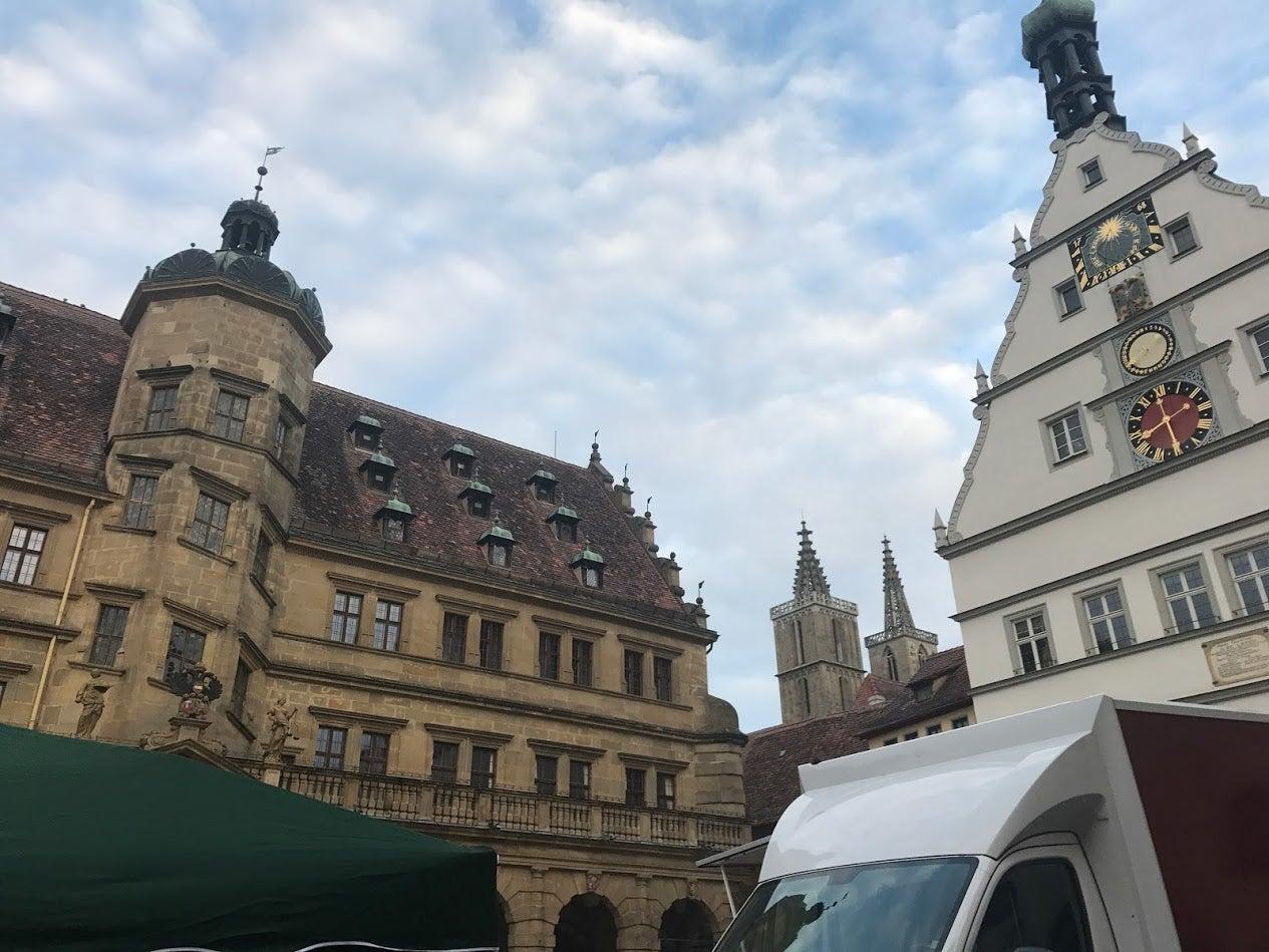 ドイツ新婚旅行日記⑧ローテンブルク観光とミュンヘンへ移動