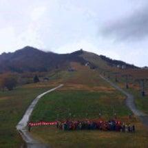 飯士登山祭と応援演奏…