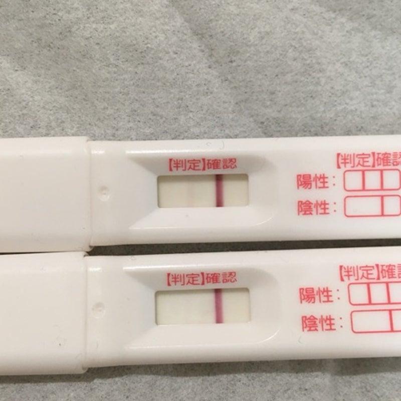 排卵検査薬 蒸発線