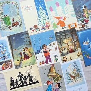ヴィンテージクリスマスカード UPしました(^^)の画像
