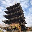 秋晴れの京都で前撮り