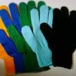 カラー手袋と楽器の作…