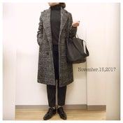☆今日のコーデ    即買いしたコートを使ったマニッシュコーデ☆