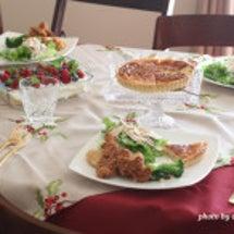 クリスマス料理のレッ…