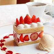 銀座資生堂パーラーで期間限定!絶品ショートケーキをセットで♪サロン・ド・カフェ