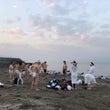 ガリラヤ湖での禊