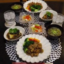 豚の生姜焼きの晩ごは…