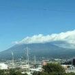 朝の富士です