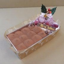 クリスマスケーキ写真…