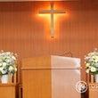 教会装花 生花とアー…