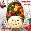 クリスマス弁スタート☆雪だるまのお弁当♪