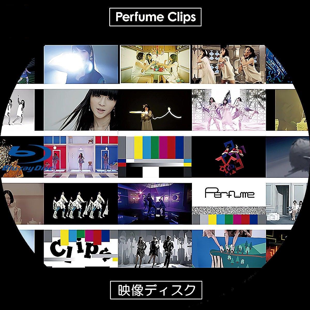 Perfume Clips DVDラベル