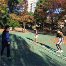 サッカートレーニング…