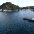船に乗って松山市へ