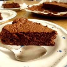 誕生日ケーキはオレン…