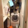 『洗面所と廊下収納の…