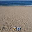 10月のビーチ 3