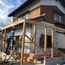住宅兼店舗の増築工事…