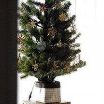 LDにクリスマスツリ…