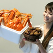 感謝♡誕生日にて。蟹…