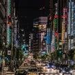 ギラギラした東京の夜…