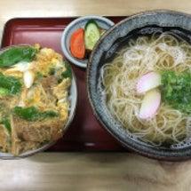 大江戸でかけ蕎麦とカ…