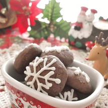 クリスマスに♪雪の結…