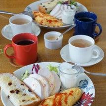 週末のカフェ風朝ごは…