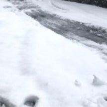 雪!! と【グリコ】…