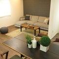 大きなソファ、大きなテーブルを置く家具の配置術を提案!ソファ前を広くするL字型LD空間の使い方②