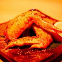 宮崎地鶏と黒霧島。横…