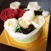 Xmasにフラワーケーキ♡ 今年もレッスン開催致しますの画像