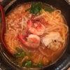 夜ごはんin西新宿五丁目『アジアン麺/ホッケンミー(海老ラーメン)』の画像