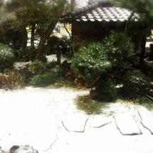 初降雪。。。