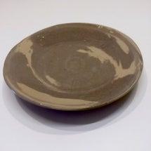 マーブル模様のお皿…