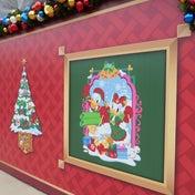 香港ディズニーランドのクリスマスおすすめイベント (カードを投函しましょ~!)