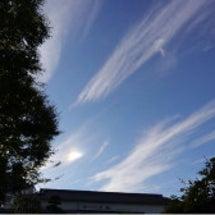 亀戸天神の龍雲と虹色…